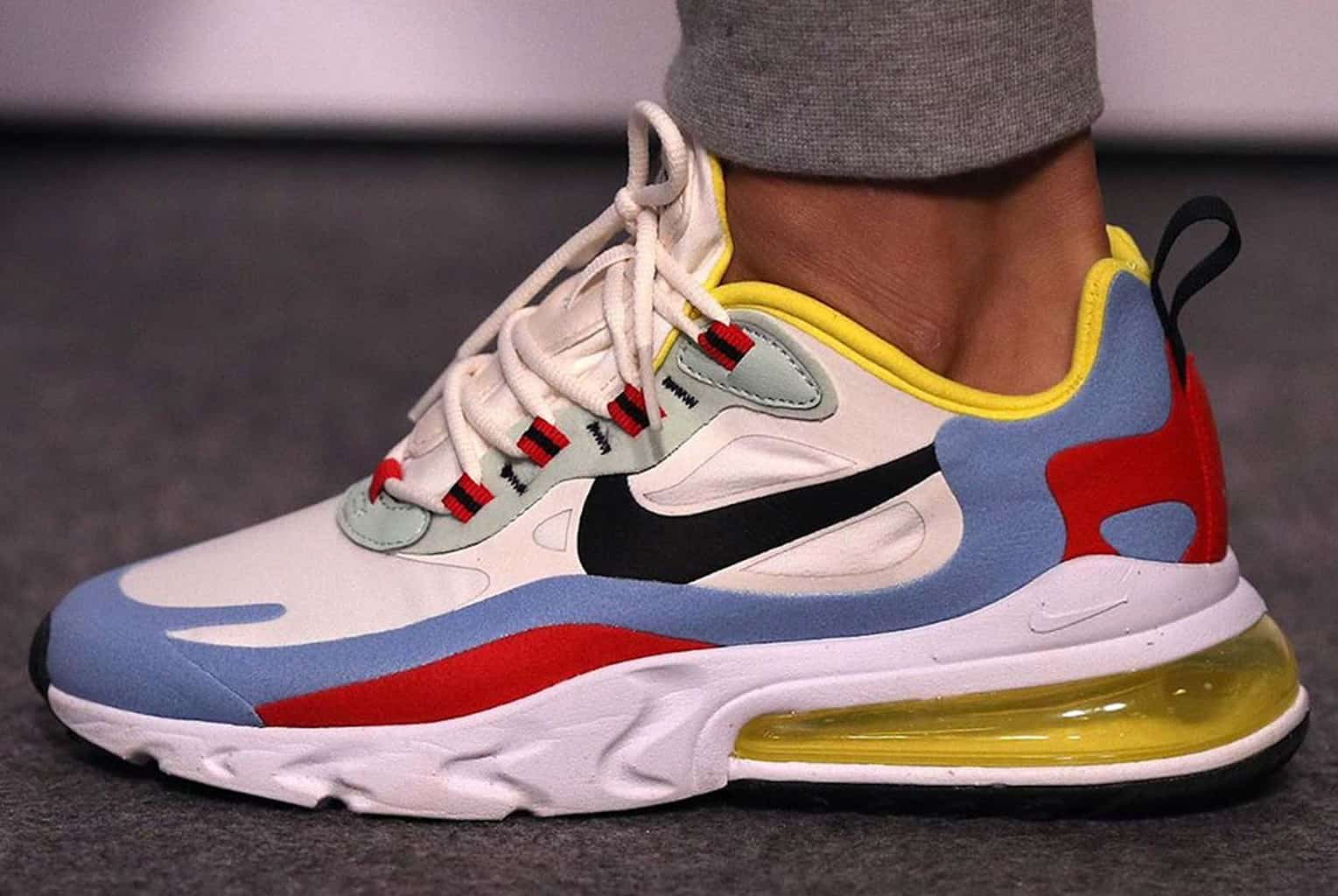 online here super popular good texture First Look At The Nike Air Max 270 React Colorway