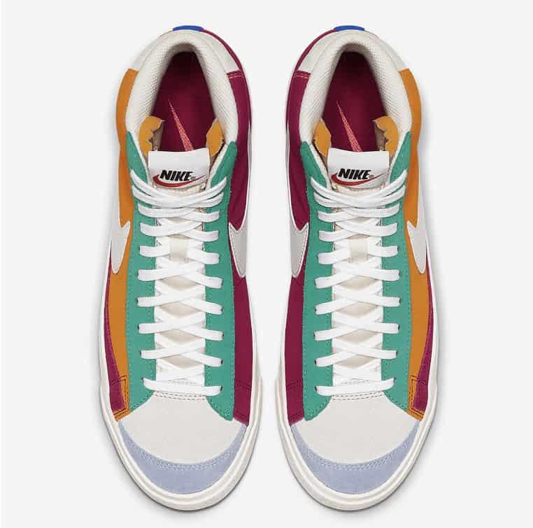 Nike Blazer Mid Vintage Is Set To Return Soon Color blocked